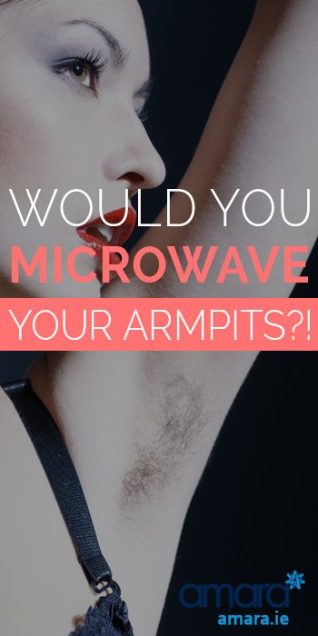 Would You Microwave Your Armpits - Underarm Sweat Treatment Mirasmooth