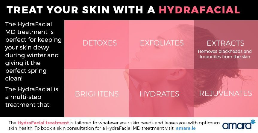 HydraFacial Treatment Dublin - Benefits of Hydrafacial