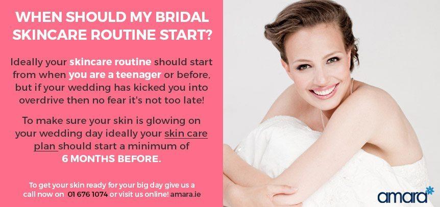 Bridal Skincare Routine - Amara Skin Care Dublin