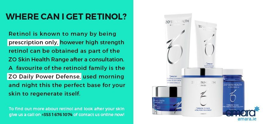 Where Can I Get Retinol - Amara Skincare - Dublin