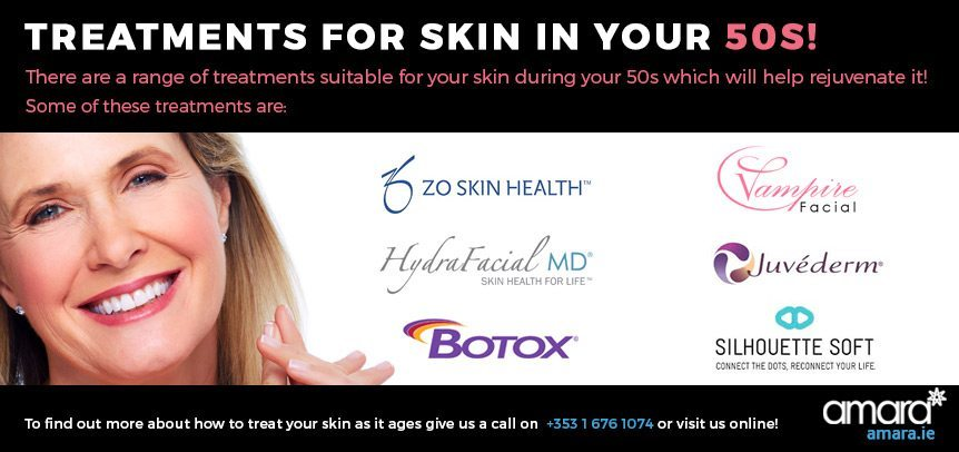 Treament for skin in your 50s