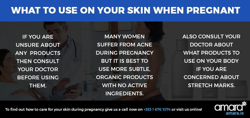 What to Use on your Skin When Pregnant - Skincare Treatments Dublin