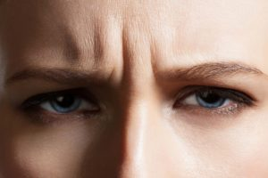 frown lines, anti-wrinkle injections